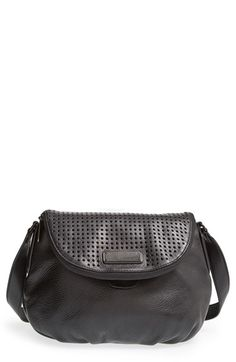 MARC BY MARC JACOBS 'New Q - Perforated Natasha' Leather Crossbody Bag | Nordstrom