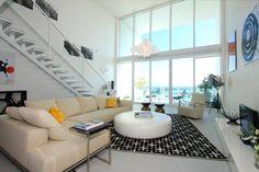 Ultramodern sleek house with sharp lines interior design