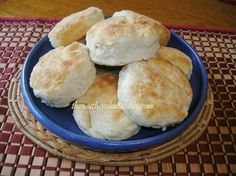 "My mother never made any kind of biscuits except what we called ""cathead"" biscuits and she made them almost every day.  I have seen her make biscuits twice in one day because every kid in the neigh..."