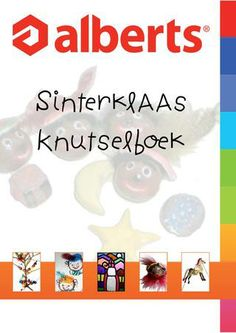 Sinterklaas Knutselboek Alberts BV Saint Nicholas, Art School, December, Arts And Crafts, Artwork, Blog, Diy, Circuit, Kunst