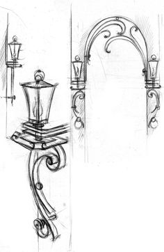 Metal door design ideas wrought iron 58 Ideas for 2019 Metal Drawing, Metal Art, Iron Gate Design, Old Lamps, Art Nouveau Design, Iron Art, Front Door Decor, Metal Crafts, Door Design