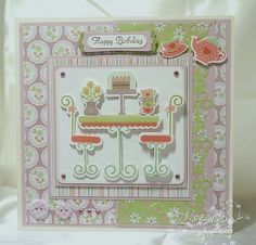 Decorative Boxes, Birthdays, Card Making, Happy Birthday, Paper Crafts, Crafty, Frame, Card Ideas, Cards