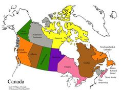 Map Of Canada With Labels.21 Best Study Of Canada Images In 2018 Canada Montessori All