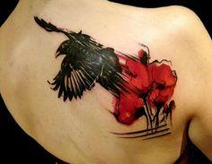 Crow, Flower