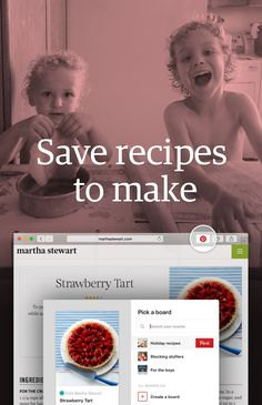Pin Tip: Get the Pinterest browser button to save creative meal ideas from around the web.