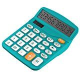 #9: Calculator Helect Standard Function Desktop Calculator (Blue) - H1001B - phones (http://amzn.to/2cumGsb) printers (http://amzn.to/2cunwoO) shredders (http://amzn.to/2bXf0y6) projectors (http://amzn.to/2ch8mil) scanners (http://amzn.to/2bMXiIv) laminators (http://amzn.to/2ch9P8C)