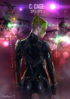 Mortal Kombat X Cage Spec-ops by Grapiqkad on DeviantArt