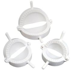 niceeshop(TM) 1 Set Of 3 Pcs Asian Kitchen Cuisine Dough Press Dumpling Turnover Maker Perfect Tool For Home