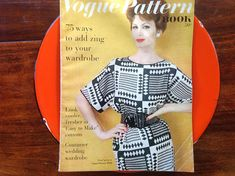 Vintage Vogue Pattern Book April May 1960 Couturier Wedding Vintage Vogue Patterns, Stunning Photography, Pattern Books, Daughter, French, Wedding, Etsy, Dresses, Design