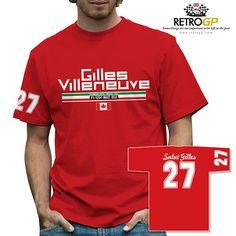 Gilles Villeneuve by Retro GP