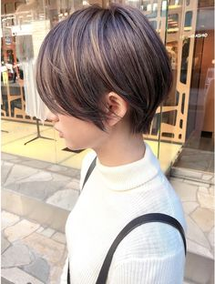 Pin on ショート Pin on ショート Short Hair Cuts, Short Hair Styles, Fine Hair, Cute Hairstyles, Pixie, Hair Color, Bob, Beauty, Fashion