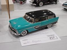 56 Plymouth Suburban built by Al Rogers