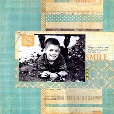 There's always a reason to smile - Scrapbook.com   - Farm House 302 Collection