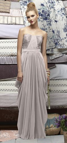 Weddington Way is your one stop shop for bridal party fashion online. Explore our boutique for the largest selection of beautiful bridesmaid dresses, suit & tuxedo rentals for the men, bridesmaid gifts, accessories & more. Silky Dress, Dress Up, Grey Gown, Wedding Bridesmaid Dresses, Bridesmaids, My Unique Style, Glamorous Wedding, Grey Fashion, Beautiful Gowns