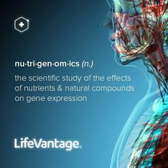 LifeVantage, and the science of Nutrigenomics, the study of the effects of nutrients & natural compounds on gene expression. Jump start your immune system, reduce oxidative stress in body cells, and optimize your health and wellness. Team Motivation, Spoon Theory, Gene Expression, Caring Company, Cellular Level, Oxidative Stress, Stay Young, Better Life, Natural Health