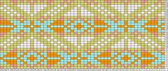 Tricksy Knitter Charts: Quilt Diamond Large confetti by Megan Goodacre