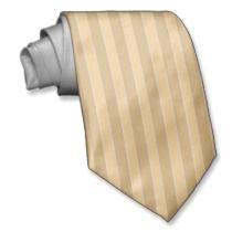 Beige and Ecru Vertical Striped Necktie ties