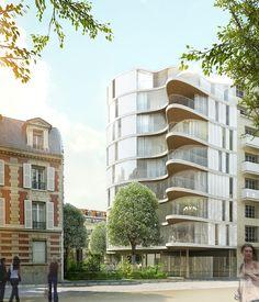 ECDM ,EMMANUEL COMBAREL, DOMINIQUE MARREC  59 logements pour jeunes actifs  Paris, France, 2012