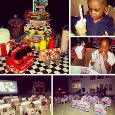 1950's Drive-in Birthday Party Ideas | Photo 1 of 7