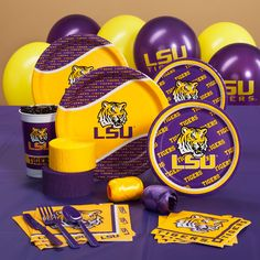 Louisiana State Tigers (LSU) College Party Supplies