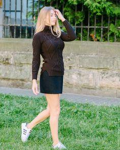 Купить Геометрия - коричневый, свитер, свитер вязаный, свитер женский, свитер…