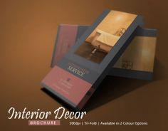 Interior Design Brochure Template by Innovative Design, via Behance