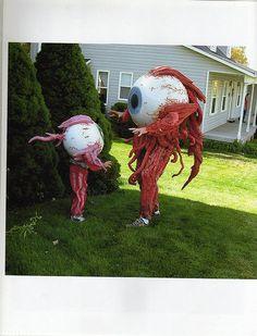 eyeball fight! by Elmer Presslee, via Flickr  -Josh want to dress up as an eyeball for Halloween 2013