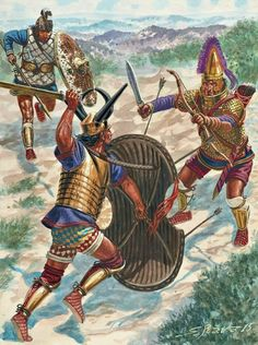 Ancient Armor, Ancient Egyptian Art, Ancient Aliens, Ancient History, Ancient Greece, Military Art, Military History, Bronze Age Collapse, Sea Peoples