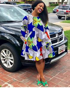 wearing us so well this Easter Sunday 💕💎 Short African Dresses, African Blouses, Latest African Fashion Dresses, African Print Dresses, African Print Fashion, Africa Fashion, Ethiopian Traditional Dress, African Traditional Dresses, African Attire