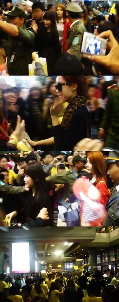 T-ara receives warm welcoming from more than 2,000 fans in Vietnam