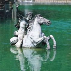 Boboli Gardens at Pitti Palace, Florence, Italy. Huge beautiful gardens overlooking the city. Le Vatican, Statues, Rome, Italian Sculptors, Gulliver's Travels, Florence Italy, Italy Travel, Italy Trip, Beautiful Gardens