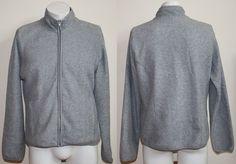 Genuine Gap Fleece Jumper Mark XL/TG Boys Girls Regular XS/S Adult Grey Active