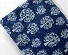 Up to Cotton Craft Fabrics Cotton Crafts, Soft Summer, Wooden Blocks, Indigo Blue, Printed Cotton, Printing On Fabric, Summer Dresses, Ebay, Design