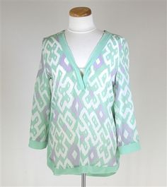 Line and Dot Tunic... so cute with White Skinny's