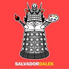 the weirder the mash-up the happier i am: salvador dalek.