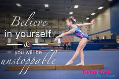 Believe in yourself & you will be unstoppable. #believe #unstoppable