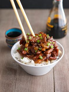 Mongolian Beef (Low Carb & Gluten-Free) - Too much cornstarch = lumpy, but good flavor!