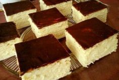 Skót krémes (citromos is lehet) Hungarian Desserts, Hungarian Cake, Romanian Desserts, Hungarian Recipes, Sweet Cookies, Cake Cookies, Sweet Treats, Czech Desserts, Smoothie Fruit