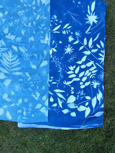 DIY: Sunprint Fabric - Rebecca Atwood Designs Picnic Blanket, Outdoor Blanket, Cool Art, Awesome Art, Cyanotype, Diy Accessories, Art School, Fun Projects, Printmaking