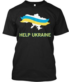 HELP UKRAINE EuroMaidan T-Shirt Campaign | Teespring $20.00 - 100% of proceeds go to help with the medical needs of EuroMaidan.  On sale through February 17th!  Ships Worldwide
