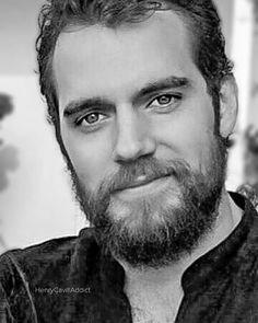 Hello Love ❤️ #HenryCavill #myaddiction #henrycavilladdict #handsome #beard #blackandwhite