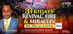 Connect with the Apostolic Ministry of Dr. It runs several networks, programs and crusades backed with supernatural Signs and Wonders and the manifestation of the tangible glory of God. Supernatural Signs, Upcoming Events, Miraculous, Ministry, Wealth, New Experience, February, 18th, Friday