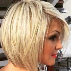 Looking for stacked bob hairstyles? Find stacked bob hairstyles pictures for graduated, fine hair, long hair, and layered hairstyles. Pick yours! Stacked Bob Hairstyles, Long Bob Hairstyles, Pretty Hairstyles, Blonde Hairstyles, Hairstyles 2016, Hairstyle Short, Hairstyle Ideas, Hairstyles Pictures, Elegant Hairstyles
