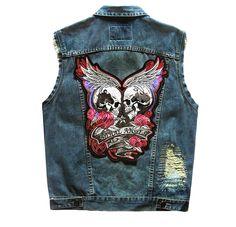 Plus Size 5xl 2019 New Vintage Hole Street Casual Womens Jeans Vest Denim Slim Short Female Vest Sleeveless Jacket Waistcoat Price Remains Stable Women's Clothing