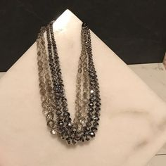 Shop Women's J. Crew size OS Necklaces at a discounted price at Poshmark. Description: NWOT; several layered strings of beautiful beads; J. Crew's classy style; makes an elegant statement piece. Sold by ceuhlig. Fast delivery, full service customer support.