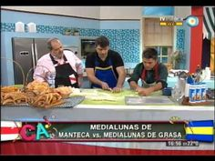 Medialunas de manteca y grasa Argentina Food, Pan Relleno, Bread Baking, Bread Recipes, Sweet Recipes, Sweets, Churros, Eat, Breads