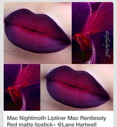 MAC Nightmoth Lip Liner How To And Dupe