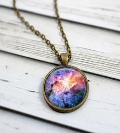 Galaxy Necklace - Livin' Freely  - 1