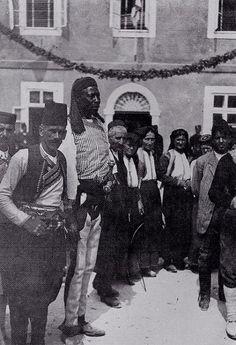 black ancestry , ulcinj, montenegro - probably from Kenya (notice the hair) or Sudan
