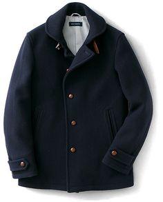 URBAN RESEARCH ナチュラルストレッチメルトンマリンジャケット / melton marine jacket on ShopStyle